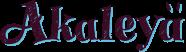 Akaleya - logo menu